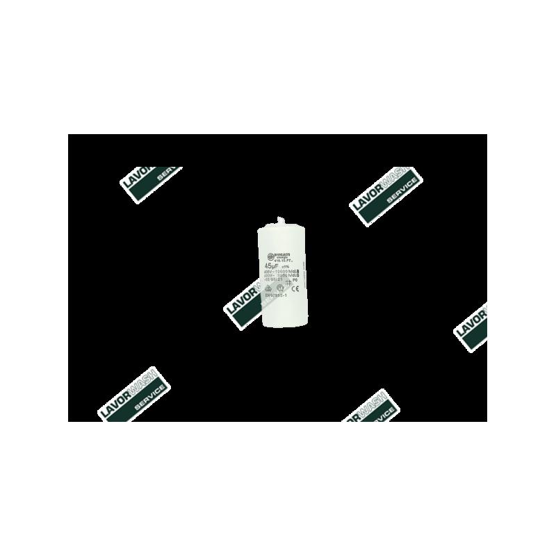 3.404.0016 - CONDENSATEUR LAVOR ORIGINAL 45µF/mF 450V D45X90 F/M